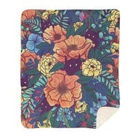 Wild Flowers - blanket - small view