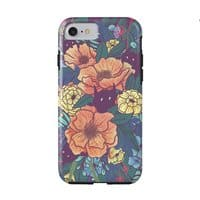 Wild Flowers - double-duty-phone-case - small view