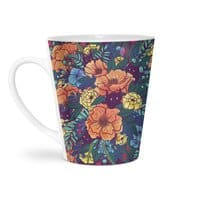 Wild Flowers - latte-mug - small view