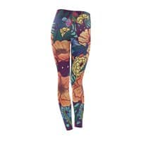 Wild Flowers - leggings - small view