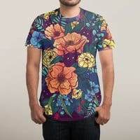 Wild Flowers - mens-sublimated-tee - small view