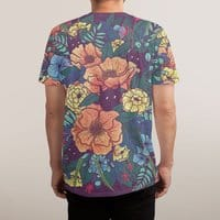 Wild Flowers - mens-sublimated-triblend-tee - small view