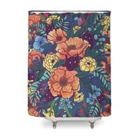 Wild Flowers - shower-curtain - small view