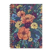 Wild Flowers - spiral-notebook - small view