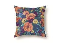 Wild Flowers - throw-pillow - small view