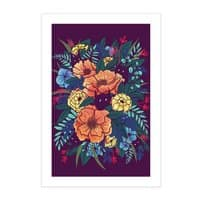 Wild Flowers - vertical-print - small view