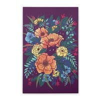 Wild Flowers - vertical-stretched-canvas - small view