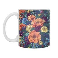 Wild Flowers - white-mug - small view