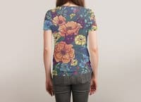 Wild Flowers - womens-sublimated-triblend-tee - small view
