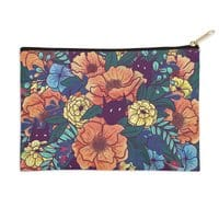 Wild Flowers - zip-pouch - small view