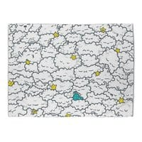 A Cloudy Night - rug-landscape - small view