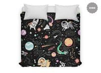 Space Pets - duvet-cover - small view