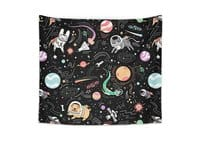 Space Pets - indoor-wall-tapestry - small view