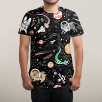 Space Pets - mens-sublimated-tee - small view