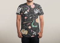 Space Pets - mens-sublimated-triblend-tee - small view
