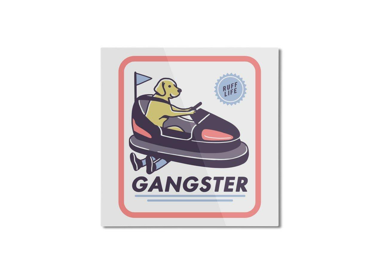 Gangster By Yort Evangelista Skateboard With Hanging