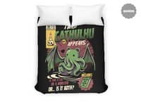 Cathulhu - duvet-cover - small view