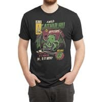 Cathulhu - mens-triblend-tee - small view