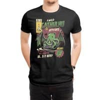 Cathulhu - mens-regular-tee - small view
