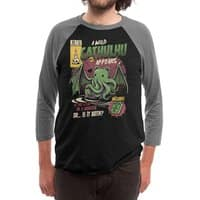 Cathulhu - triblend-34-sleeve-raglan-tee - small view