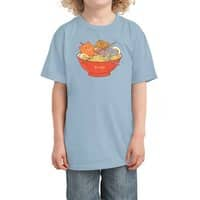 Ramen and cats  - kids-tee - small view