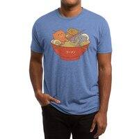 Ramen and cats  - mens-triblend-tee - small view