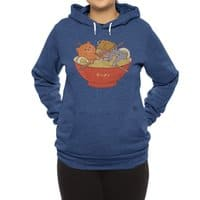 Ramen and cats  - hoody - small view