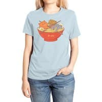 Ramen and cats  - womens-extra-soft-tee - small view