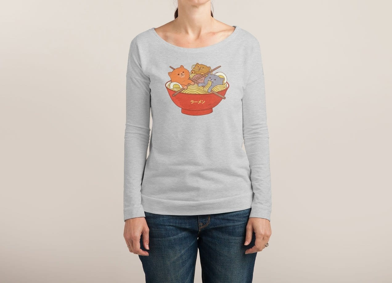 a62e1cef0 Ramen and cats by Pepe Rodriguez | Threadless