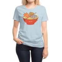 Ramen and cats  - womens-regular-tee - small view