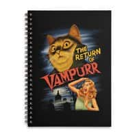 The Return of Vampurr - spiral-notebook - small view