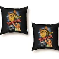 The Return of Vampurr - throw-pillow - small view