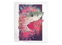 SHARK FROM OUTER SPACE - blanket - small view
