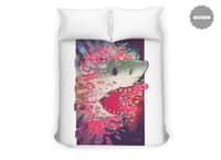 SHARK FROM OUTER SPACE - duvet-cover - small view
