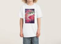 SHARK FROM OUTER SPACE - kids-tee - small view