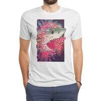 SHARK FROM OUTER SPACE - mens-triblend-tee - small view