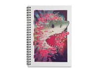 SHARK FROM OUTER SPACE - spiral-notebook - small view