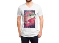 SHARK FROM OUTER SPACE - vneck - small view