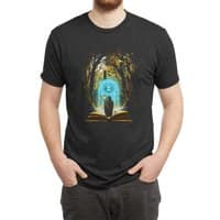 Book of Magic and Adventures - mens-triblend-tee - small view