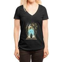 Book of Magic and Adventures - womens-deep-v-neck - small view
