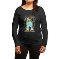 Book of Magic and Adventures - womens-long-sleeve-terry-scoop - small view