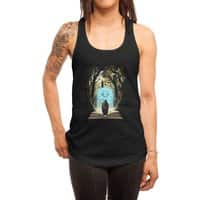Book of Magic and Adventures - womens-racerback-tank - small view