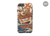 The Great Ramen off Kanagawa - double-duty-phone-case - small view
