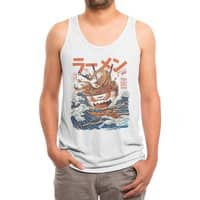 The Great Ramen off Kanagawa - mens-triblend-tank - small view