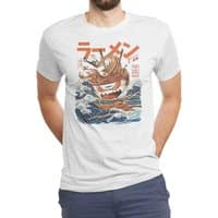 The Great Ramen off Kanagawa - mens-triblend-tee - small view