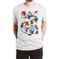 les champs de mondrian - mens-extra-soft-tee - small view