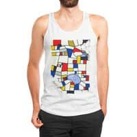 les champs de mondrian - mens-jersey-tank - small view
