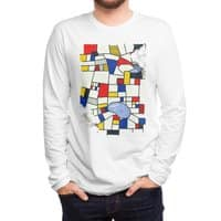 les champs de mondrian - mens-long-sleeve-tee - small view