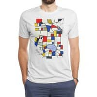 les champs de mondrian - mens-triblend-tee - small view
