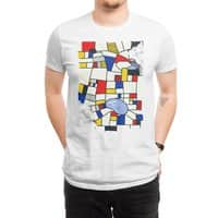 les champs de mondrian - mens-regular-tee - small view
